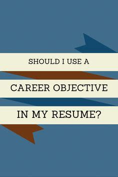 The Best Career Objectives to List on a Resume - Woman